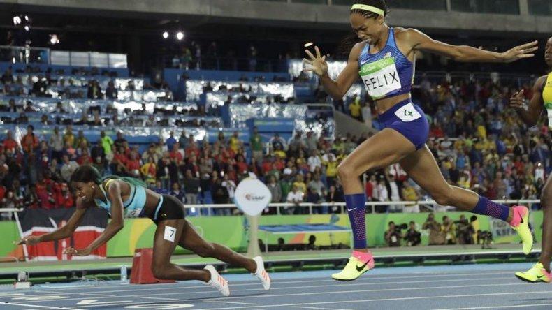 Una atleta se tiró de cabeza y ganó el oro: mirá cómo lo hizo