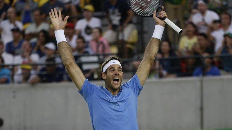 Del Potro en su mejor momento: fue invitado al US Open