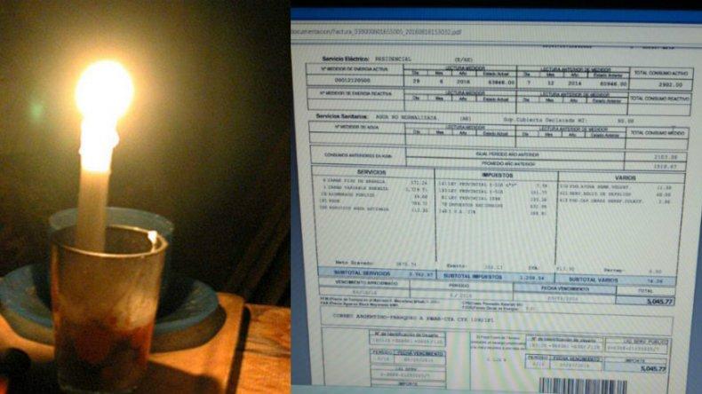 Le aumentaron el servicio eléctrico un 300% y sufre bajas tensión