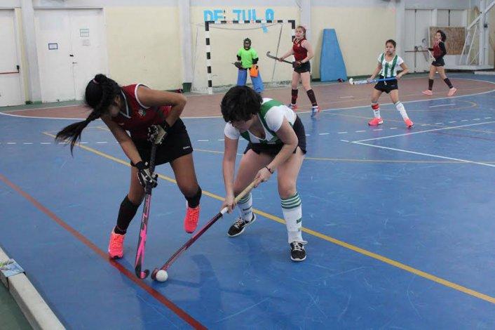 Deportivo Portugués goleó 8-1 a Laprida en el partido de la categoría Sub 14.
