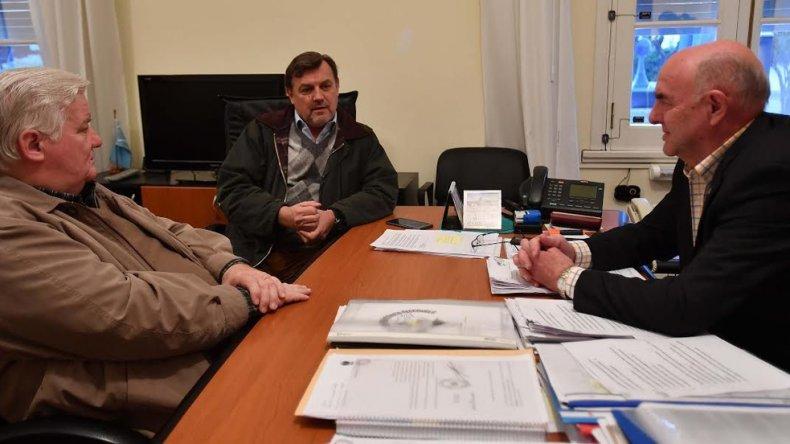 El diálogo político continuó con el ex intendente de Gaiman