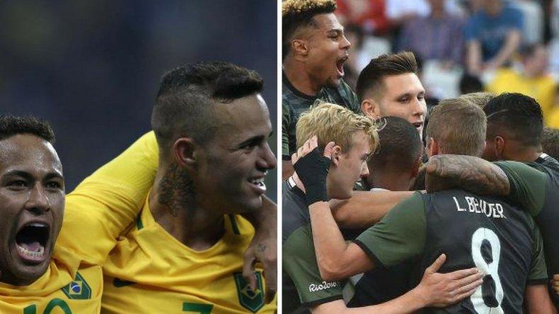 Final entre Brasil y Alemania con sabor a revancha