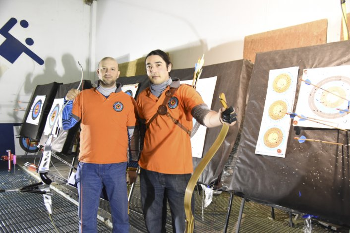 Eduardo Gomes Correia y Luis Ruiz ayer
