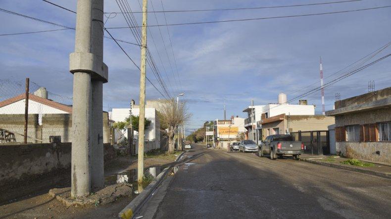 El intento de robo se registró ayer antes de las 17 en calle Tierra del Fuego