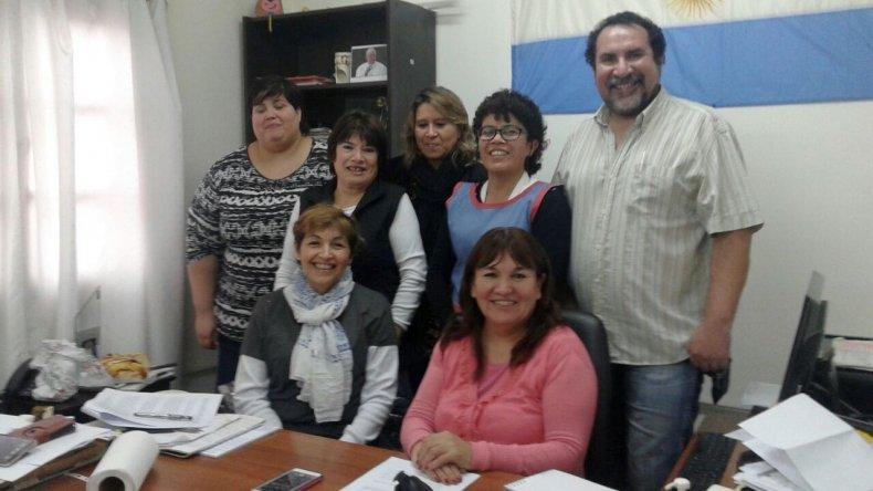 Equipo de trabajo que llevará adelante elII Encuentro de Entidades Vecinales de Chubut.