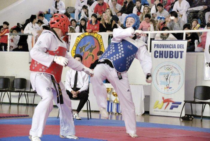 Con buena convocatoria y nivel de lucha concluyó el 2° Open Patagónico Kwon Jin Lee de Taekwondo WTF.