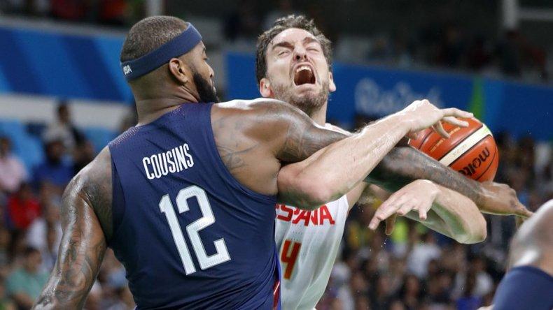 Estados Unidos es finalista en básquet tras derrotar a España