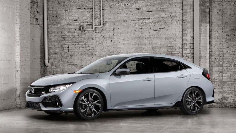 Los detalles del nuevo  Honda Civic Hatchback