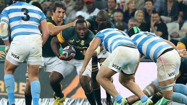 Los Pumas cayeron ante Sudáfrica en el debut