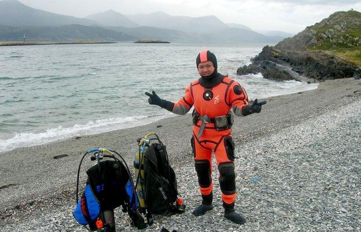 Para los principiantes se realizan salidas desde la costa.