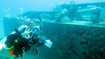 Sin lugar a dudas, para los amantes del buceo, la opción más interesante es adentrarse en los secretos que esconden los naufragios.