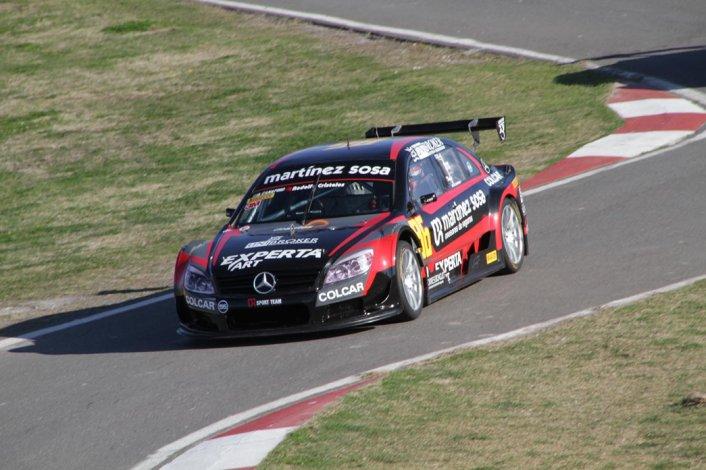 Agustín Canapino se quedó con el mejor tiempo ayer en el autódromo de Rosario.