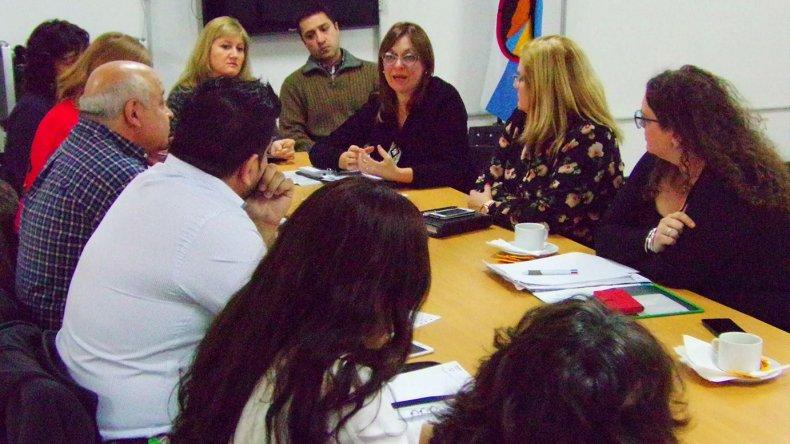 El encuentro que se realizó durante la última semana en el Concejo.