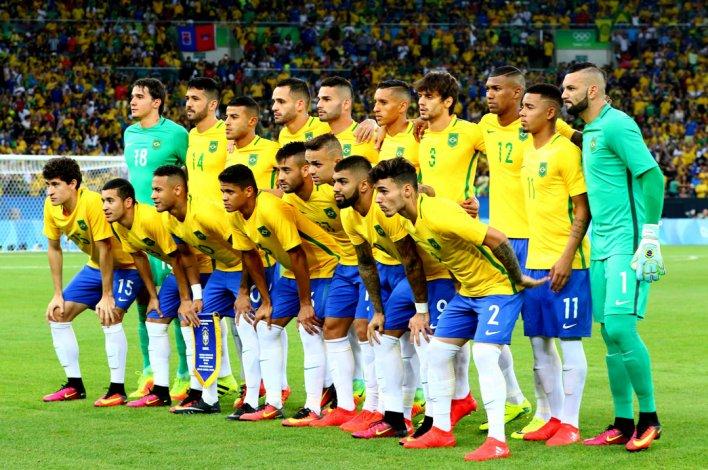 La selección de Brasil conquistó el oro olímpico del fútbol