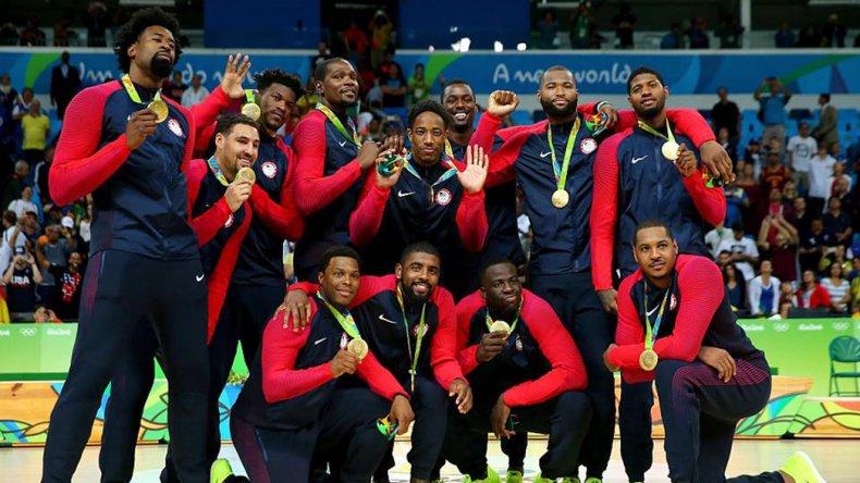 Estados Unidos retuvo el oro olímpico en básquetbol masculino en calidad de invicto.