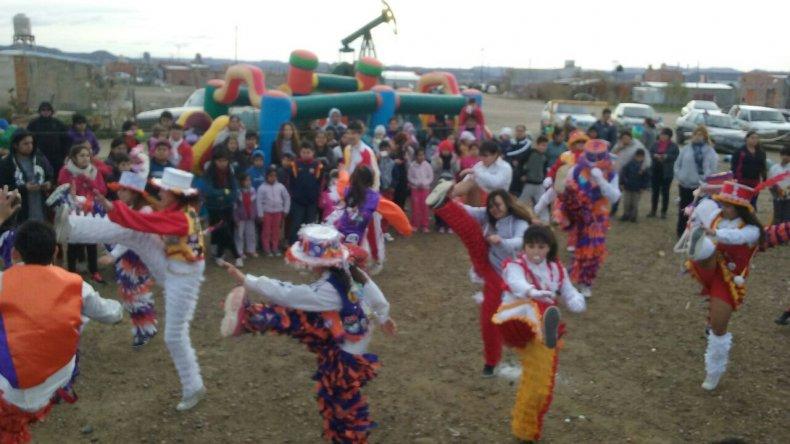 Más de 200 niños celebraron su día en Zona Norte
