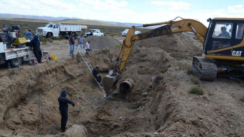 El acueducto no se termina por problemas entre Sarmiento y la SCPL