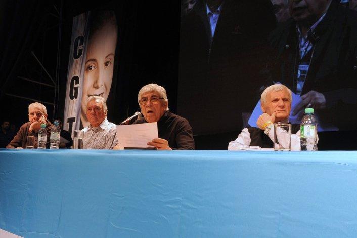 El Congreso Extraordinario de la CGT eligió ayer el triunvirato de conducción.