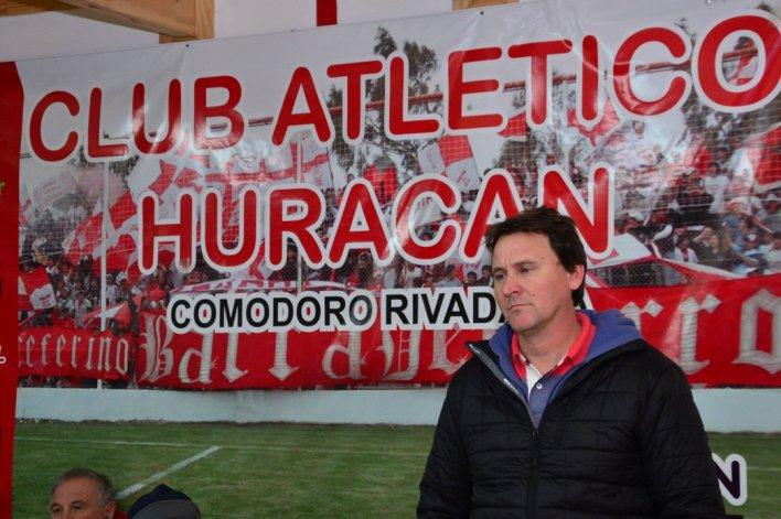 Cristian Cancellieri es el flamante presidente de Huracán que asumió con el apoyo de los veteranos del Globo.