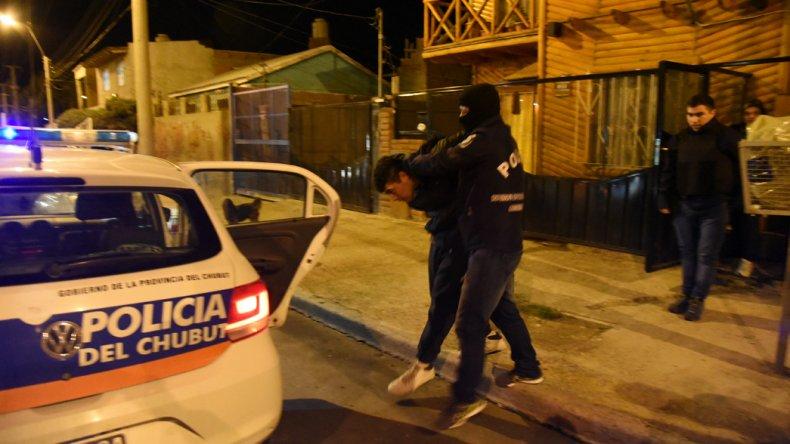 El personal de la Brigada detuvo anoche a Diego España