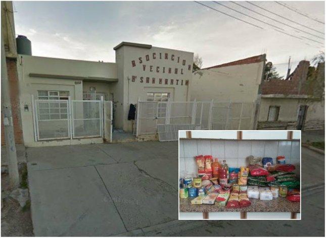 El almuerzo de 100 chicos del San Martín casi se suspende por un problema administrativo