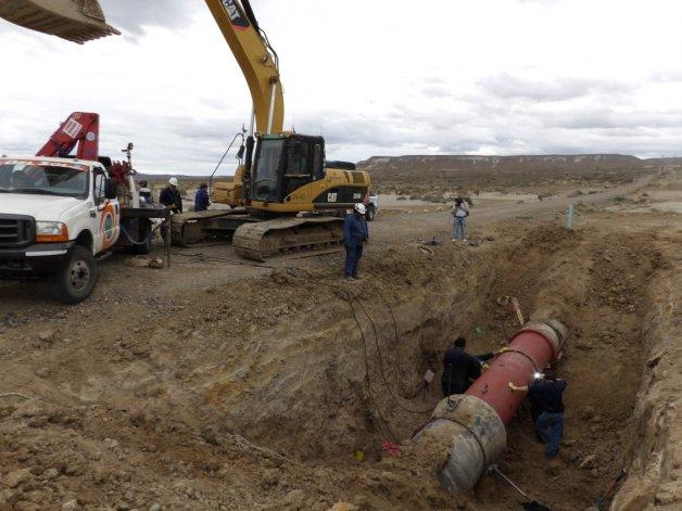 Pagani reconoció que la finalización del acueducto tendrá demoras