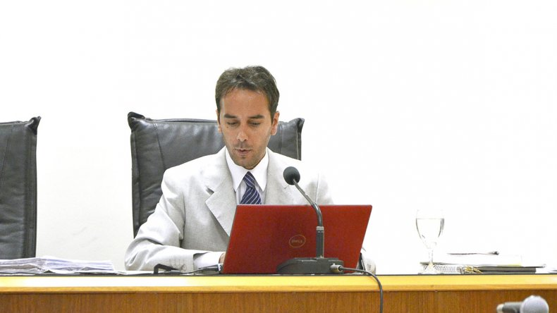 El juez Mariano Nicosia presidió la audiencia donde se trató la situación procesal del imputado.