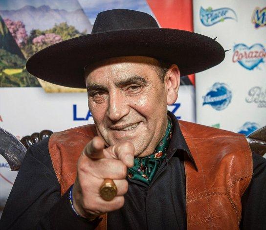 El Chaqueño Palavecino presentó su nuevo disco.