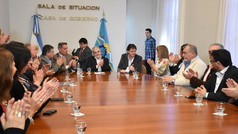Das Neves prosiguió con su ronda de contactos con intendentes de la Provincia. Definen obras prioritarias en cada localidad.
