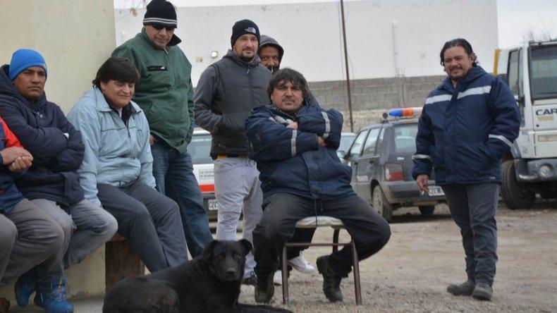 A partir de ayer los trabajadores municipales bloquearon los sectores operativos