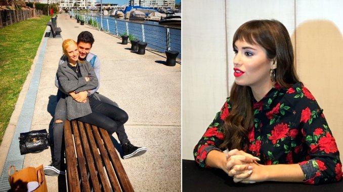 Mariano Martínez confirmó su romance con Camila Cavallo