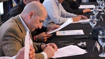 José Llugdar hizo su lectura del plenario del miércoles en Mendoza.