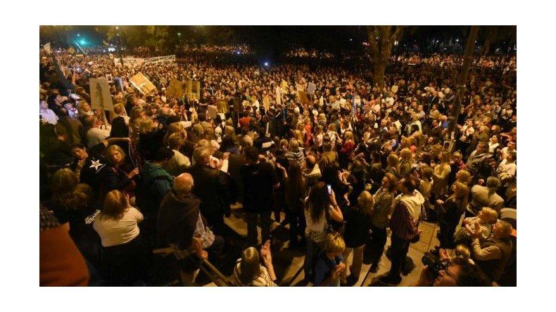 Miles de personas reclamaron mayor seguridad y justicia en Rosario
