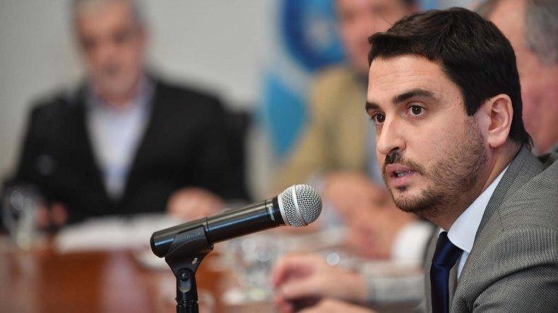 El fiscal de Estado, Diego Martínez Zapata.