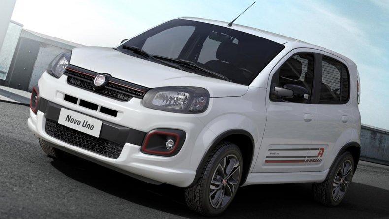 El Fiat Uno 2017 se lanza con nuevos motores