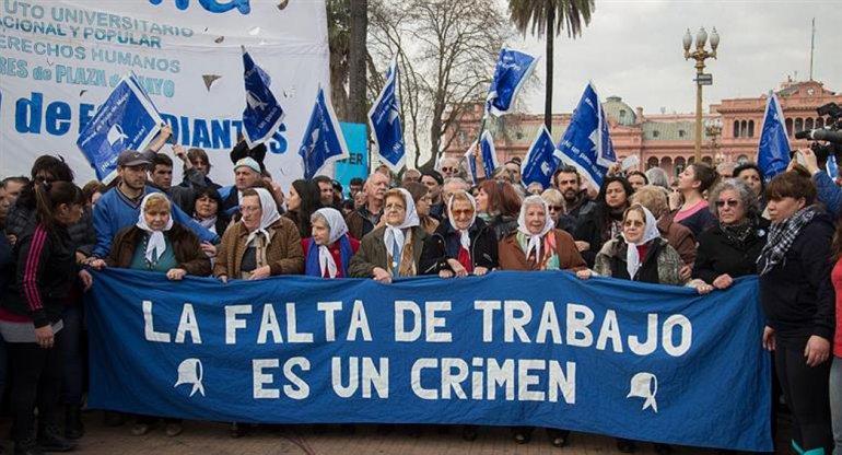 Volvieron las Marchas de la Resistencia de las Madres de Plaza de Mayo.