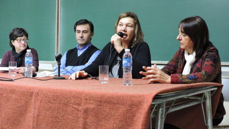 La presentación del taller sobre discapacidad que se concretó en la Universidad.