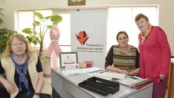 Las mujeres de Prevención y Asistencia al Cáncer Comodoro Rivadavia–Rada Tilly se mostraron satisfechas por los resultados obtenidos en la primera semana de la campaña ginecológica anual.