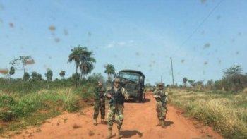 conmocion en paraguay por un ataque guerrillero