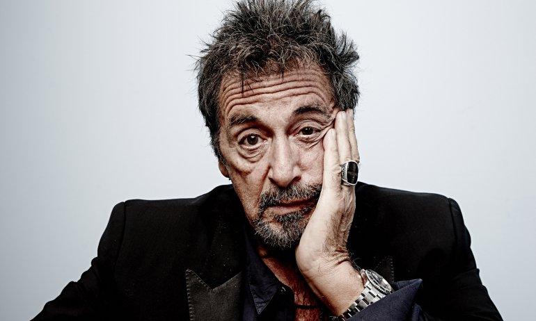 Al Pacino llega al teatro Colón