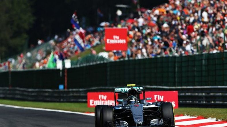 Rosberg se adjudicó el GP de Bélgica