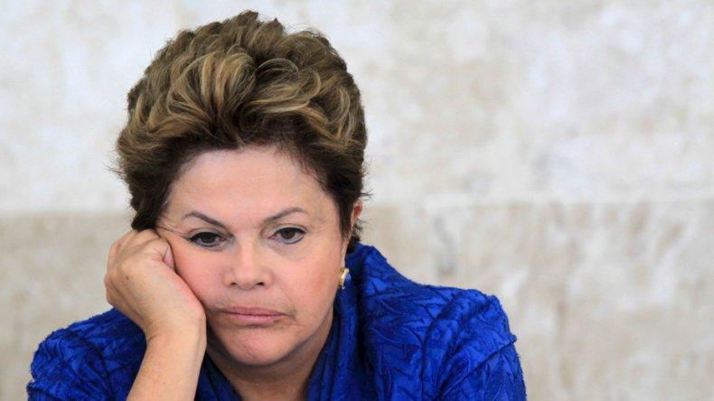 Entre hoy y mañana se definirá el futuro político de Dilma Rousseff.