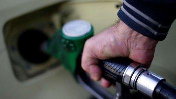 en noviembre subirian las naftas un 8 por ciento