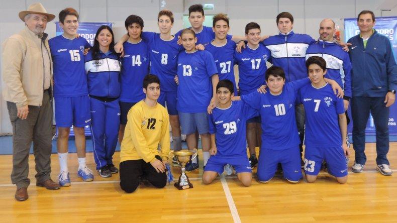 Los chicos de CEF 26 vencieron en la final a El Hoyo.