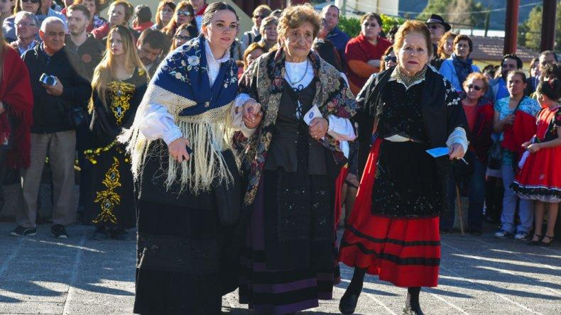 El desfile del Inmigrante  Pionero Patagónico recordó  los valores del Bicentenario