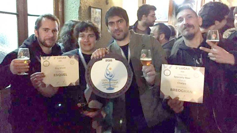 La cerveza artesanal Esquel obtuvo la medalla de plata en una categoría donde la medalla de oro quedó desierta.