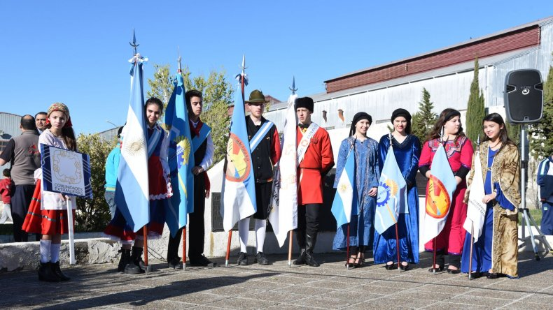 Desfile del Inmigrante Pionero Patagónico