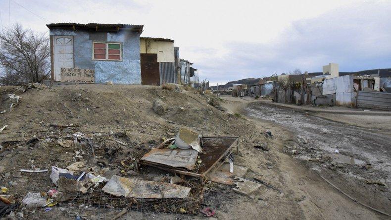 Un equipo de Nación llega  para relevar asentamientos