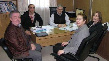 La rectora Graciela Di Perna se reunió con autoridades del Ministerio de Salud.