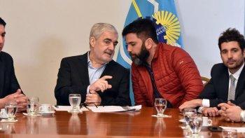 El gobernador Mario Das Neves confirmó ayer la jura de nuevos subsecretarios, entre ellos Pablo Mamet (foto).